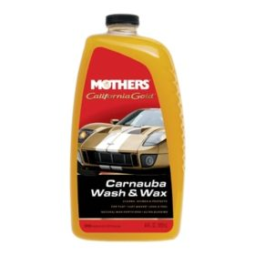 MOTHERS ® CALIFORNIA GOLD CARNAUBA WASH & WAX – Shampoo com carnauba 1,9 l